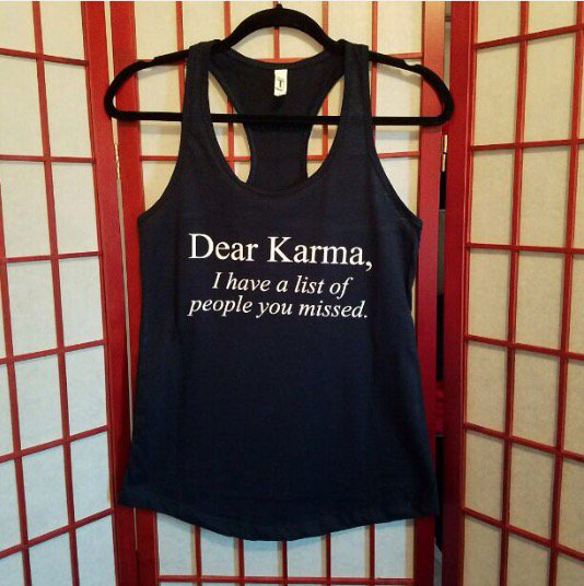 Dear Karma Tank Top Medium