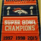 Denver Broncos Super Bowl Champions Flag 3ft x 5ft Polyester flag