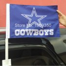 Dallas Cowboys car flag 12x18inches double sided 100D Polyester 30x45cm