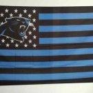 Carolina Panthers Football Team polyester 3' X 5' Flag