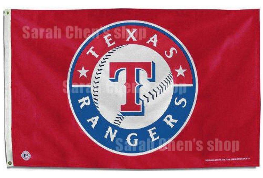 MLB Texas Rangers Flag 3x5 FT 150X90CM Banner 100D Polyester flag style 2