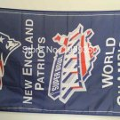 New England Patriots world champions 2001 Flag 3ft x 5ft Polyester banner