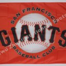 San Francisco Giants Personalized Flag 3 x 5ft MLB 150X90CM Banner metal holes Flag style 1
