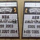 San Antonio Spurs NBA Champions Flag 3ft x 5ft Polyester 90X150cm 2 metal grommets banner