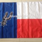 The SAN Antonio spurs white and red flag 3FTx5FT 150X90CM Banner 100D Polyester flag