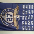 New York Yankees 27 world champions flag MLB 3ftx5ft Banner 100D Polyester