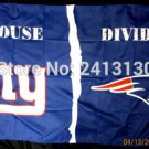 New York Giants vs New England Patriots House Divided Rivalry Flag 90x150cm