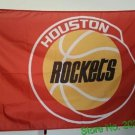 Houston Rockets Flag 3ft x 5ft Polyester NBA Houston Rockets Banner 150 X 90cm Custom flag