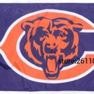 Chicago Bears has a big c and says bears 3FTx5FT Banner 100D Polyester Flag