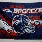 Denver Broncos Helmet Flying Flag Banner flag 3ft x 5ft 100D Polyester 90x150cm