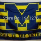 Ohio State Buckeyes Michigan Wolverines Flag 3ft x 5ft Polyester NCAA Banner 90x150cm style 1