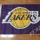 Los Angeles Lakers Flag 3ft x 5ft Polyester NBA Banner Custom flag