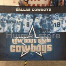 Dallas Cowboys how about them cowboys Flying Flag Banner flag 3ft x 5ft 100D Polyester 90x150cm