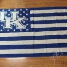 Kentucky Wildcats Stars & Stripes Nation Baseball Flag 3X5FT NCAA