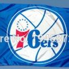 Philadelphia 76ers Flag 3ft x 5ft Polyester NBA Banner Custom flag