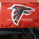 Atlanta Falcons car flag 12x18inches 30x45 cm double sided 100D Polyester