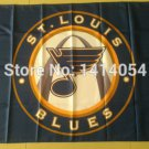 St Louis Blues Logo Flag 3ftx5ft Banner 100D Polyester NHL Flag style 1