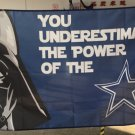 Dallas Cowboys star wars flag 3ftx5ft Banner 100D Polyester Flag metal Grommets