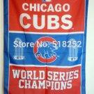 Chicago Cubs World Series Champions Flag 3ft x 5ft Polyester MLB flag