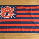 Auburn Tigers With Modified US flag 3ftx5ft Banner 100D Polyester Flag metal Grommets