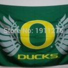 Oregon Ducks logo Flag 3FTx5FT Banner 100D Polyester flag 90x150cm NCAA