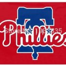 Philadelphia Phillies Fan Flag 3 x 5ft MLB 150X90CM Banner metal grommets Flag