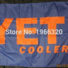 yeti coolers flag 3ftx5ft 100D Polyester Flag metal Grommets 90x150cm