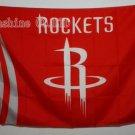 Houston Rockets Flag 3ft x 5ft Polyester NBA Banner Custom flag