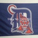 Detroit Tigers Flag 3ft x 5ft Polyester MLB Banner Flying Custom flag 90x150cm