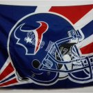 Houston Texans Helmet Lighting Flag 3ft x 5ft Polyester Banner flag