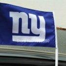 """New York Giants Logo car flag 12""""x18""""Banner 100D Polyester 30x45cm"""