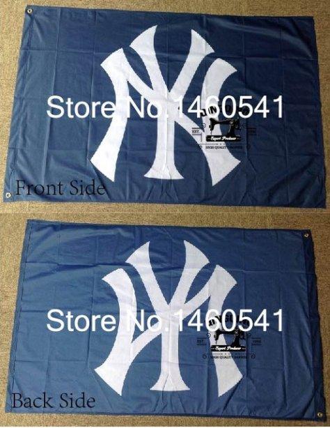New York Yankees Flag 3ft x 5ft Polyester MLB flag