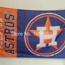 MLB Houston Astros USA baseball Team LOGO Flag 3x5FT Banner