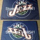 Utah Jazz big logo Flag 3x5 FT 150X90CM Banner 100D Polyester flag 2 metal holes