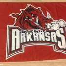 Arkansas Razorbacks flag 3ftx5ft Banner 100D Polyester NCAA Flag
