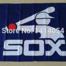 Chicago white sox logo flag 3x5 FT Banner 100D Polyester MLB Flag Brass Grommets