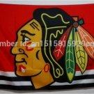 Chicago Blackhawks Logo flag 3x5 FT Banner 100D Polyester NHL Flag Brass Grommets