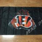 Cincinnati Bengals 2 Gloves 3x5 ft flag 100D Polyester flag 90x150cm