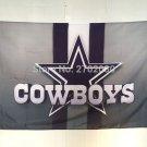 Dallas Cowboys stripes Flag 90x150cm metal grommets 3x5 banner