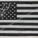 SAN Antonio spurs basketball team flag with stars and stripes 3FTx5FT 150X90CM