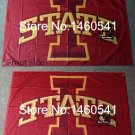 Iowa State Cyclones Flag 3ftx5ft Banner 100D Polyester NCAA Flag