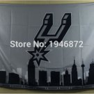 SAN Antonio spurs skyline flag 3FTx5FT 150X90CM Banner 100D Polyester flag