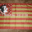 Florida State Seminoles with Modified US flag 3ftx5ft Banner 100D Polyester Flag