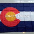 Best Quality American 3x5 Flag Nylon Polyester Colorado State CO US