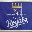 Kansas City Royals Flag 3ft x 5ft Polyester MLB Banner Flying Custom flag
