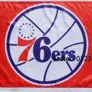Philadelphia 76ers Flag 3ft x 5ft Polyester NBA Custom flag