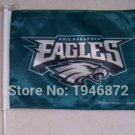 Philadelphia Eagles car flag 12x18inches double sided 100D Polyester NFL