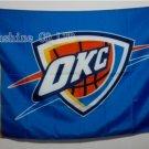 Oklahoma City Thunder Flag 3ft x 5ft Polyester NBA Banner Custom flag
