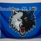 Minnesota Timberwolves Flag 3ft x 5ft Polyester NBA Banner Custom flag