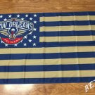New Orleans Pelicans flag 3ftx5ft Banner 100D Polyester Flag metal Grommets